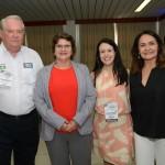 Roy Taylor, do M&E, Ana Costa, secretária de Turismo do RN, Juliana Assumpção, da Aviesp, e Ana Rita Salgado, da Emprotur