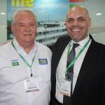 Roy Taylor, do M&E, e Roberto Gracioso, do Century Paulista