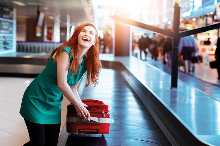 26% dos passageiros em 2018 usaram seus celulares para receber atualizações de status de suas bagagens nos desembarques