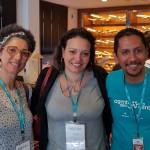 Sandra Sette (Zaptur Indaiatuba), Viviana Manzanares (Nova Opção Indaiatuba) e Ronaldo Coelho (Ancoradouro Campinas)