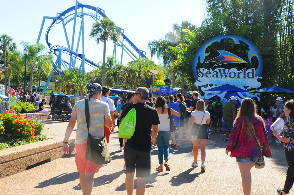 SeaWorld é o principal parque do SeaWorld Parks em Orlando