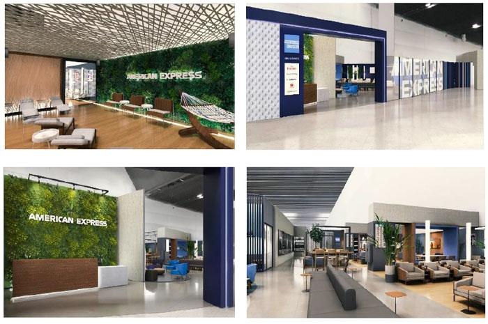American Express e GRU Airport firmam parceria em novo lounge VIP
