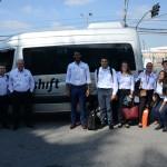 Shift Mobilidade Corporativa é a transportadora oficial da equipe M&E na WTM-LA