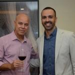 Silvio Campbell, da Chance Tour Viagens, e Rafhael Magalhães, da Visual Turismo
