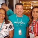 Sonia Cardoso (2S Viagens) e Marcelo Moraes (Ancoradouro Macapá) e Rosana Luz (Atitude Turismo Macapá)