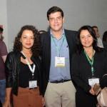 Tais Santos, Dante Campos e Monica Samia, da Braztoa