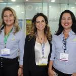 Tatiana Oliveira, Tais Mahalem e Claudia Brito, da April