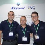 Thiago Martinez, Thiago Benatti e Fernando Manfio, da Visual Turismo