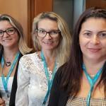 Vanessa Fernandes (Inova Turismo Jaguariúna), Márcia Carvalho (Agetur Viagens Maceió) e Quitéria Malta (Malta Turismo Maceió)