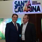 Vinicius Lummertz, secretario de Turismo de SP, e Toni Sando, do Visit São Paulo