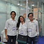 Vinicius Oliveira e Claudio Machado e Renata da Rede Soberano, Renata Chulam