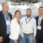 Washington Marcilio, Kelly Rocha, Alexandre Lança e Herivelto Santos, da Affinity