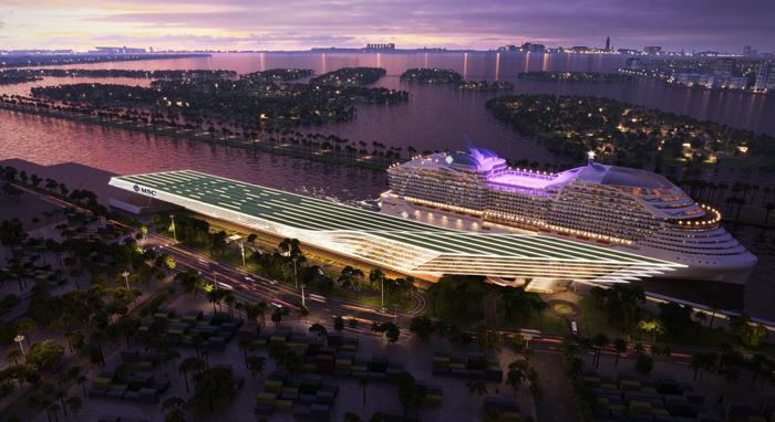 O novo terminal proporcionará uma experiência aprimorada para o cliente do início ao fim, beneficiando o embarque e o desembarque de passageiros da MSC Cruzeiros