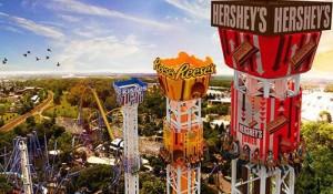 Conheça o Hershey Park, maior parque temático de chocolate do mundo com mais de 70 atrações