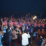 A torcida do Fui Nessa Viagem, foi escolhida como a mais animada da festa dos Campeões de Venda do Beto Carrero