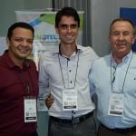 Adriano Artoni, Frederico Oliveira e Rogério Angeloni, do Grupo Prive