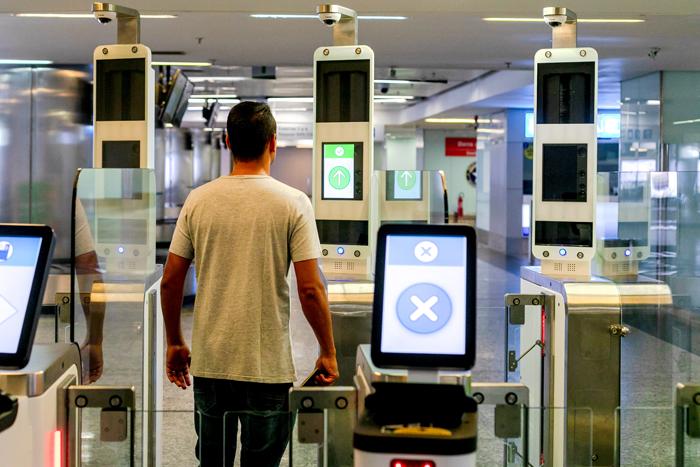 Aeroporto de Brasília já conta com a tecnologia para diminuir as filas