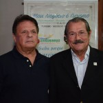 Airton Abreu, do Maranhão, e Albérico Filho, prefeito de Barreirinhas