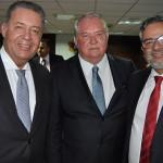 Alexandre Sampaio, da FBHA, Roy Taylor, do M&E e Bob Santos, do MTur