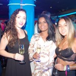 Amanda Reis e Michelle Oliveira, da Belvitur, com Mariane Kagueyama, Eventos e Inventos