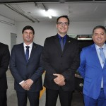 Andre Andrade, Carlos Brito, Gentil Venâncio e Osvaldo Matos, nova diretoria da Embratur
