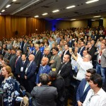 Autoridades compareceram em peso na abertura do Conotel 2019