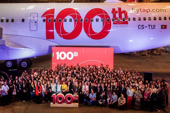 A330neo entregue na última segunda (20) se tornou a 100ª aeronave da frota.