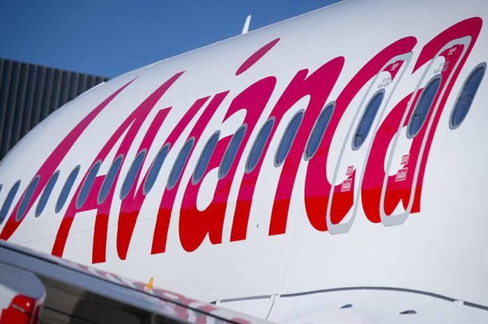 Avianca - logo e avião