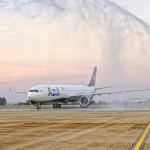 Batismo do primeiro A330neo das Américas