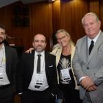 Bruno Wensling, da FUNDTUR-MS, Hugo Paiva Veiga, presidente do Fornatur, Rosa Masgrau e Roy Taylor, do M&E