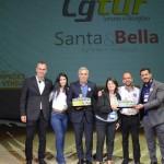 CGTur Turismo Receptivo e Santa & Bella ganharam na categoria Transportador Receptivo