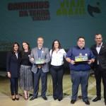 Caminhos da Terra Turismo e Viaje Brazil Turismo receberam o prêmio pelo interior de São Paulo