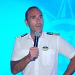 Capitão do MSC Seaside, Franceso Di Palma