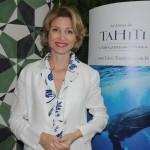 Caroline Putnoki, diretora da Atout France na América do Sul