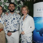 Chloé Salvador, Fernando Santos e Caroline Putnoki, da Atout France