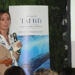 Chloé Salvador, da Atout France, é  a responsável pela capacitação e pela conta de Tahiti