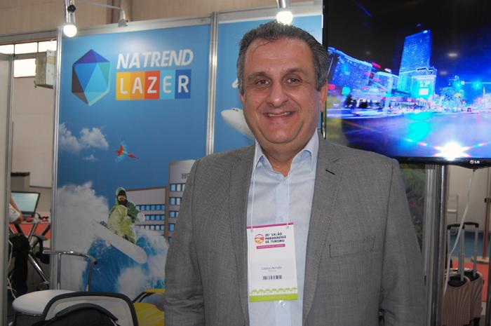 Claiton Armelin, diretor de Produtos Terrestres da CVC Corp