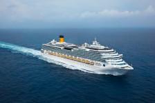 Costa Pacifica retorna à América do Sul com embarques do Rio em 2019/2020