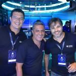 Cristopher Soares, Marco Cardoso e Rafael acomani, da MSC