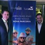 Daniel Bicudo, diretor do TudoAzul e Flavio Gordiano, Head de Loyalty da Accor para América do Sul