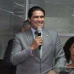 Deputado Newron Cardoso Junior também discursou durante a cerimônia