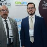 Eduardo Fontes Neto e Tarik Vervlot Fontes, da ABIH Nacional