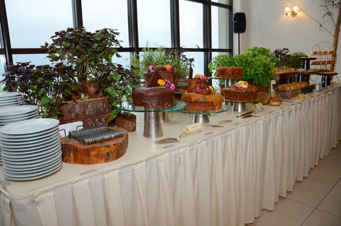Em parceria com a Soul Infinity Blue oferece serviço completo em catering em eventos