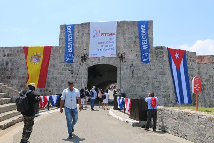 Entrada da Fit Cuba 2019