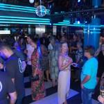Evento aconteceu no Garage Club, a disco do MSC Seaside
