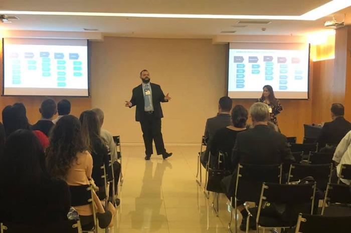 Encontro para discussão de inovações tecnológicas ocorreu no Cullinan Hplus Premium (Divulgação)