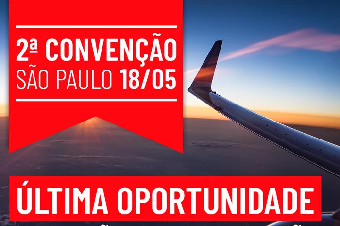 Inscrições para a 2ª Convenção Anual – Airmet Brasil encerram hoje (Divulgação)