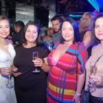 Fernanda da Luz, da Mappa Viagens, Danielli Lifante, da DTravel, Joseane Nuss, da Havan, e Sibele Langaro, da CVT