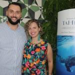 Fernando Santos, da Atout France, e Jana Willett, da Elemental Travel