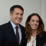 Gelson Popazoglo, da GTA, e Marina Figueiredo, da Pomptur